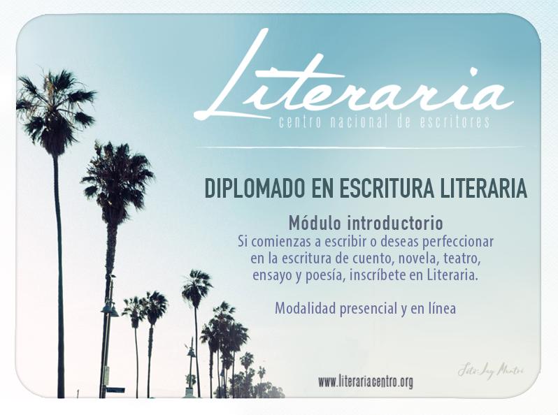 Diplomado en escritura literaria